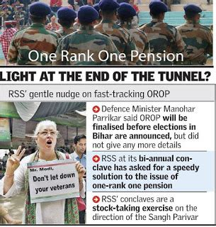 one rank one pension union cabinet approved the orop orop row ex servicemen may accept government terms asian