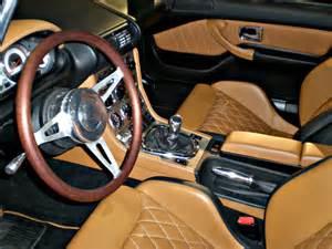 leather auto interior upholstery garage