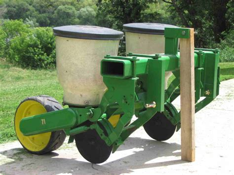 Deere Corn Planter For Sale by Midwest Wildlife Management Used Deere 71 2 Row Planter