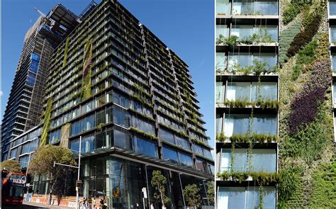 incredible vertical gardens attached     luxury apartments  central park sydney