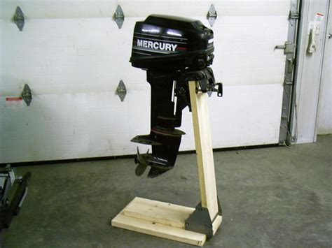 how to build an outboard motor stand boat motor stand cart dolly bracket outboard mount