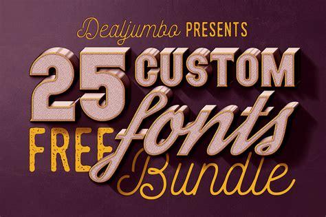 Handmade Fonts Free - 25 custom fonts befonts