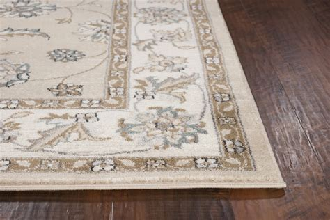 Avalon Area Rugs by Kas Avalon 5609 Beige Ivory Mahal Area Rug