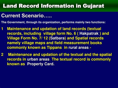 Property Surveys Record Ppt Gujarat Survey Using Electronic Total Station Ets And Global Positioning