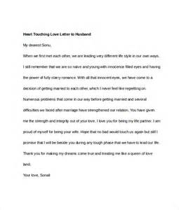 Touching Essays by Letters To Husband 11 Free Documents In Word Pdf