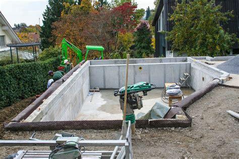 betonpool kosten baumeisterarbeiten betonarbeiten