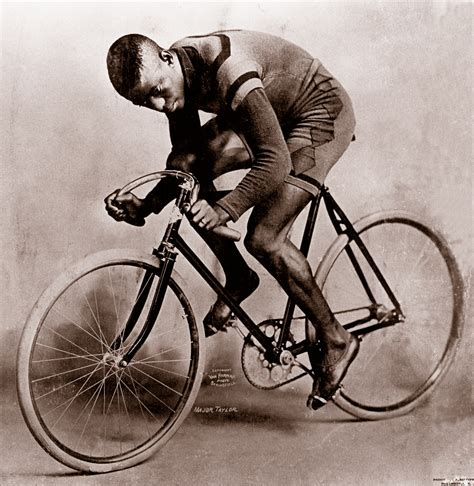 Spinning Bike America White the fastest bicycle rider in the world major dandyhorse magazine