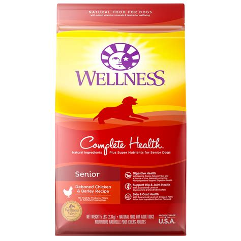 is wellness a food complete health senior senior wellness pet food