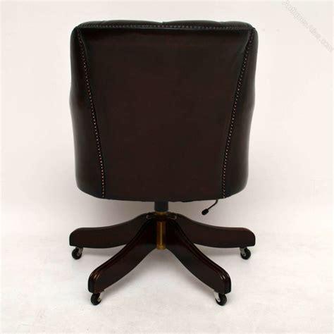antique swivel desk chair antiques atlas antique style buttoned leather