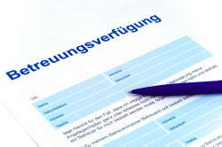 betreuungsverfuegung formular zum ausdrucken kalender