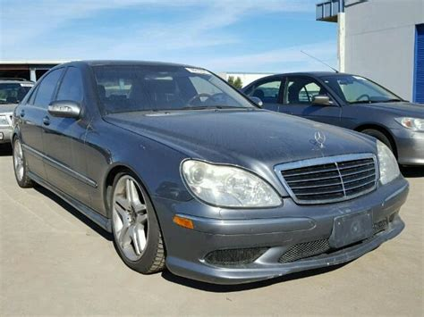 2006 mercedes s500 for sale wdbng75j16a475931 2006 gray mercedes s500 on sale