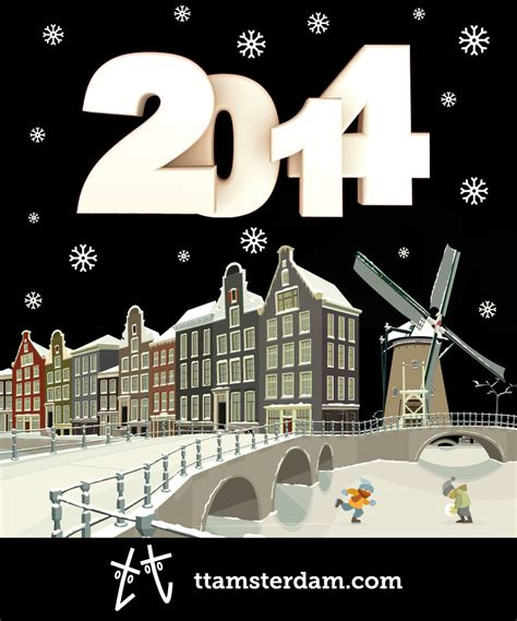 new year advertisement 2014 happy new year tt visual communication design amsterdam