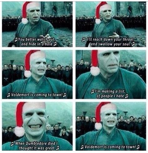 harry potter   lifestyle jingle bells voldy smells merrychristmas