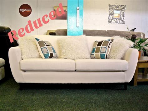 new couches for cheap 1 2 price cream retro style sofa with free uk delivery