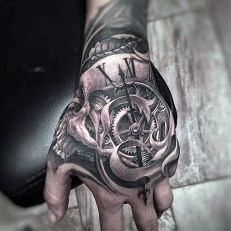 skull tattoo designs for hands 50 tattoos for inconceivable ink design