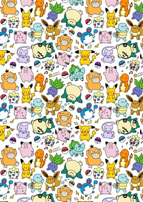 pokemon pattern iphone wallpaper pokemon pattern tumblr