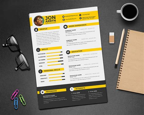 templates for design free creative resume cv design template with 3 colors