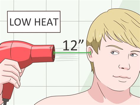 Hair Dryer Earache how to get rid of an ear ache 11 steps with pictures