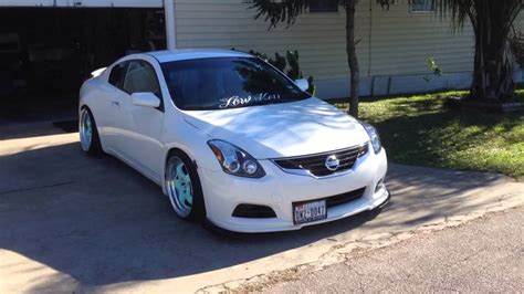 stanced nissan altima stanced nissan altima coupe imgkid com the image