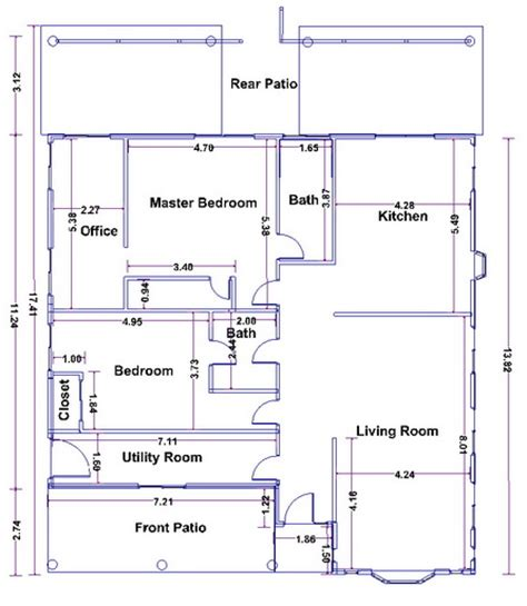 Draw A Floor Plan Online House Build In Isaan