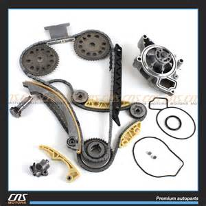 timing chain balance shaft water kit for gm saturn chevrolet 2 0l 2 2l 2 4l ebay