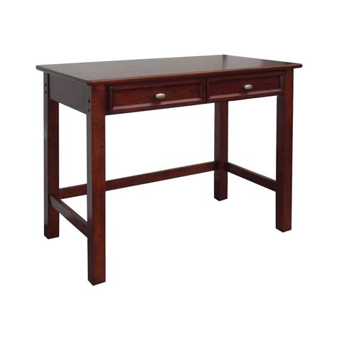 lowes computer desk shop home styles hanover cherry computer desk at lowes
