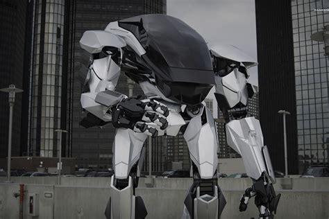 terrifying hankook mirae method  robot suit  blow