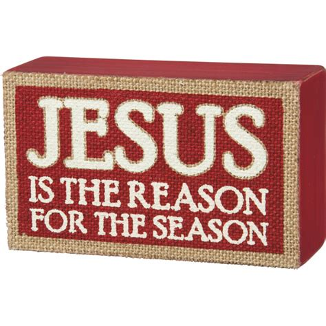 jesus is the reason for the season led christmas decorations box sign jesus is the reason for the season 5 quot x 3 quot