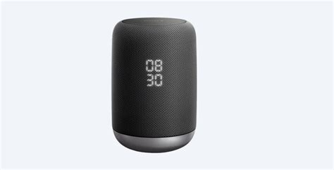sony lf sg wireless speaker  google assistant gadgets finder