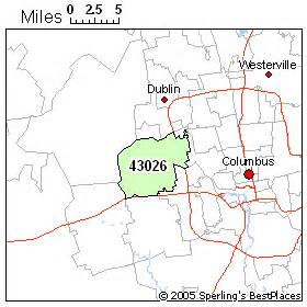 Hilliard Ohio Map by Best Place To Live In Hilliard Zip 43026 Ohio