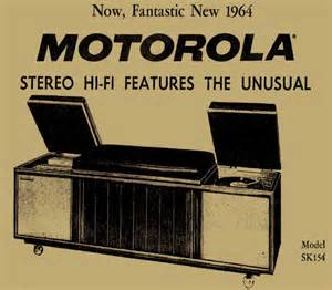 Motorola SK-154 advert 1964 | S T E R E O ! | Pinterest Console