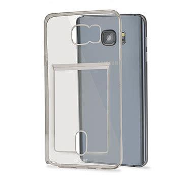 Silicone Playcard flexishield slot samsung galaxy note 5 gel grey