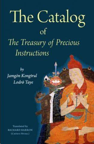 The Catalog Of The Treasury Of Precious Instructions