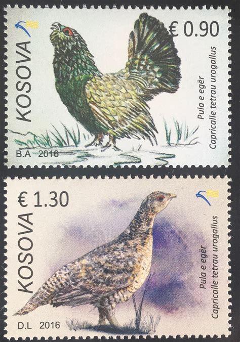 kosovo 2016 nr 359 60 gef 228 hrdete arten auerhuhn fauna