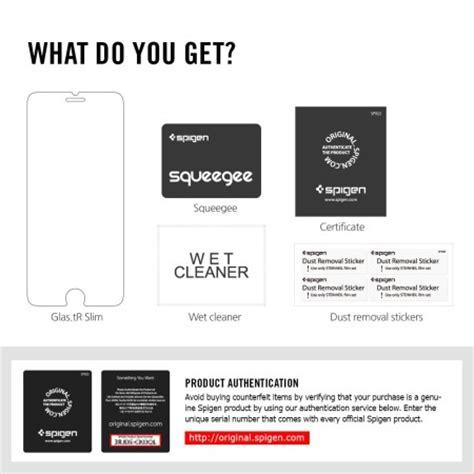 Spigen Iphone 6 Plus 6s Plus Tempered Screen Protector Cover Gl spigen glas tr iphone 6s plus 6 plus tempered glass