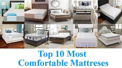 most comfortable mattresses 2014 top 10 most comfortable mattresses 2017 youtube