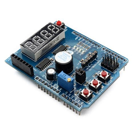 A11082 Multi Function Shield Expansion Board Multifunction For Arduino 4 digital multi function shield expansion board for arduino alex nld