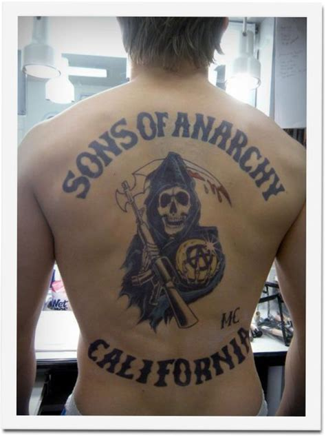 sons of anarchy tattoo ink on
