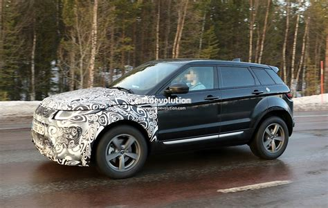 first range rover all new range rover evoque ii spied for the first time as