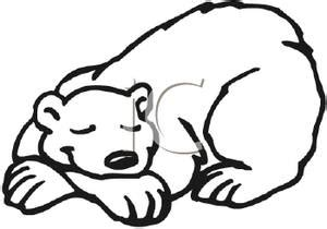 sleeping bear coloring pages to print bear cave drawing clipart clipart suggest