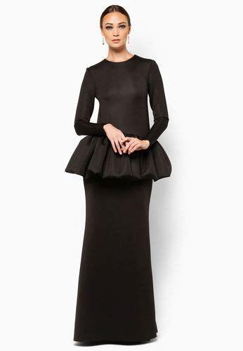 Diana Black Baloteli Maxi Dress Busana Muslim Gamis Kaftan Busui ankara baju kurung kebaya baju kurung ankara and baju kurung