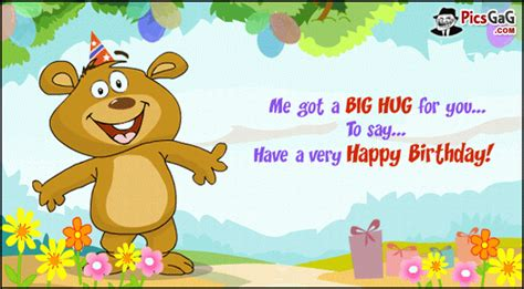 a big birthday hug books happy birthday to me quotes quotesgram