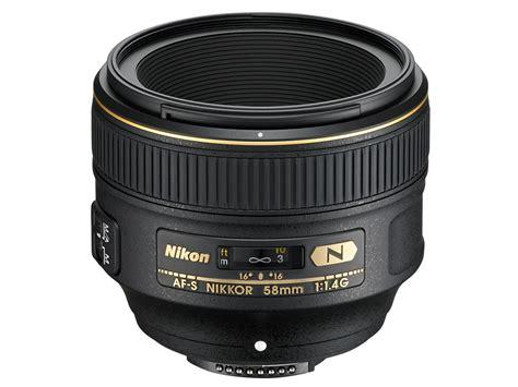 Nikon Af S 58mm F 1 4g Lens nikon announces af s nikkor 58mm f 1 4g lens fast sharp