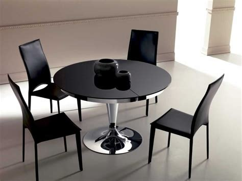 tavolo da pranzo rotondo allungabile ozzio tavolo eclipse rotondo allungabile in vetro tavoli