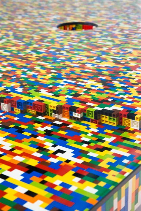design milk lego table four of the world s most impressive lego designs