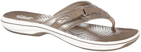 clarks flip flop sandals clarks womens sea flip flop sandals ebay