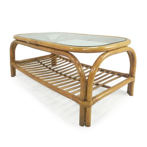 bamboo coffee table glass top 80 glass top bamboo coffee table tables