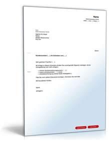 Musterbriefe Der Verbraucherzentralen Nutzen Begleitschreiben Bei Zusendung Unterlagen Muster Zum