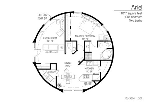 dome homes plans floor plans 1 bedroom monolithic dome institute