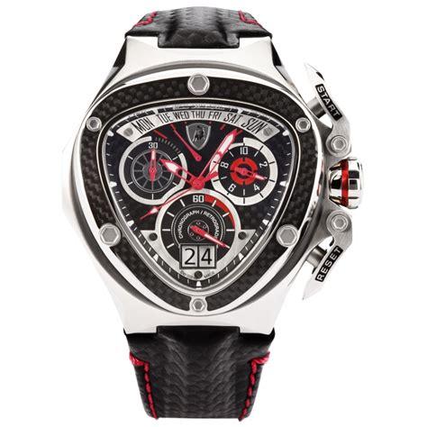 Lamborghini Tonino Watches Tonino Lamborghini Spyder 3020 Chronographic Black